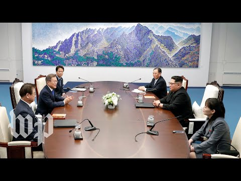 The historic Koreas summit, in three minutes