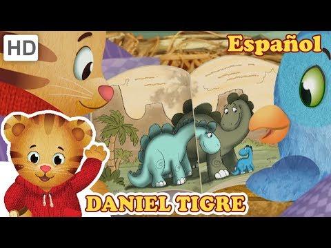 daniel-tigre-en-español-📖-mi-libro-favorito-de-dinosaurios-🦕-|-videos-para-niños