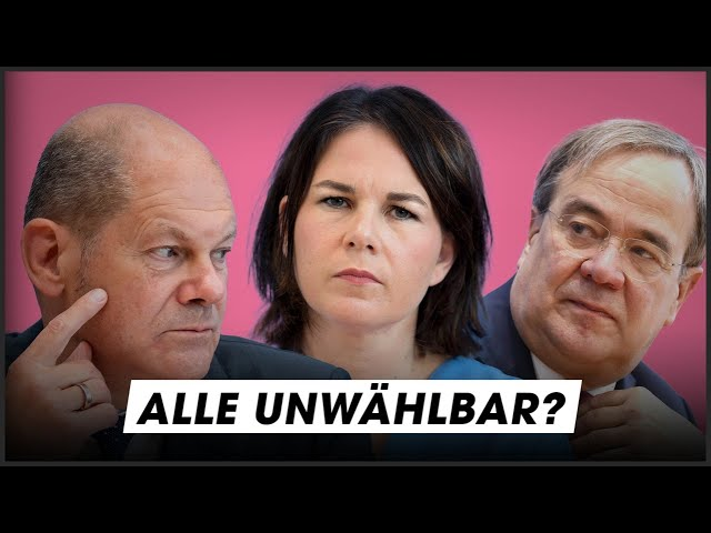 Baerbock, Laschet, Scholz: Ihre Pläne und Skandale