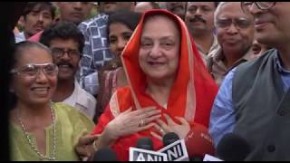 Saira Banu Briefing The Miraculous Recovery of Dilip Kumar