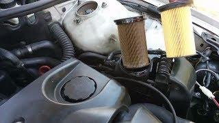 Замена топливного фильтра# БМВ 320 Е46 Ремонт своими руками#