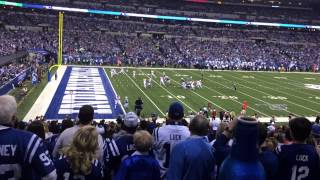 Coby Fleener - AFC Playoff Touchdown