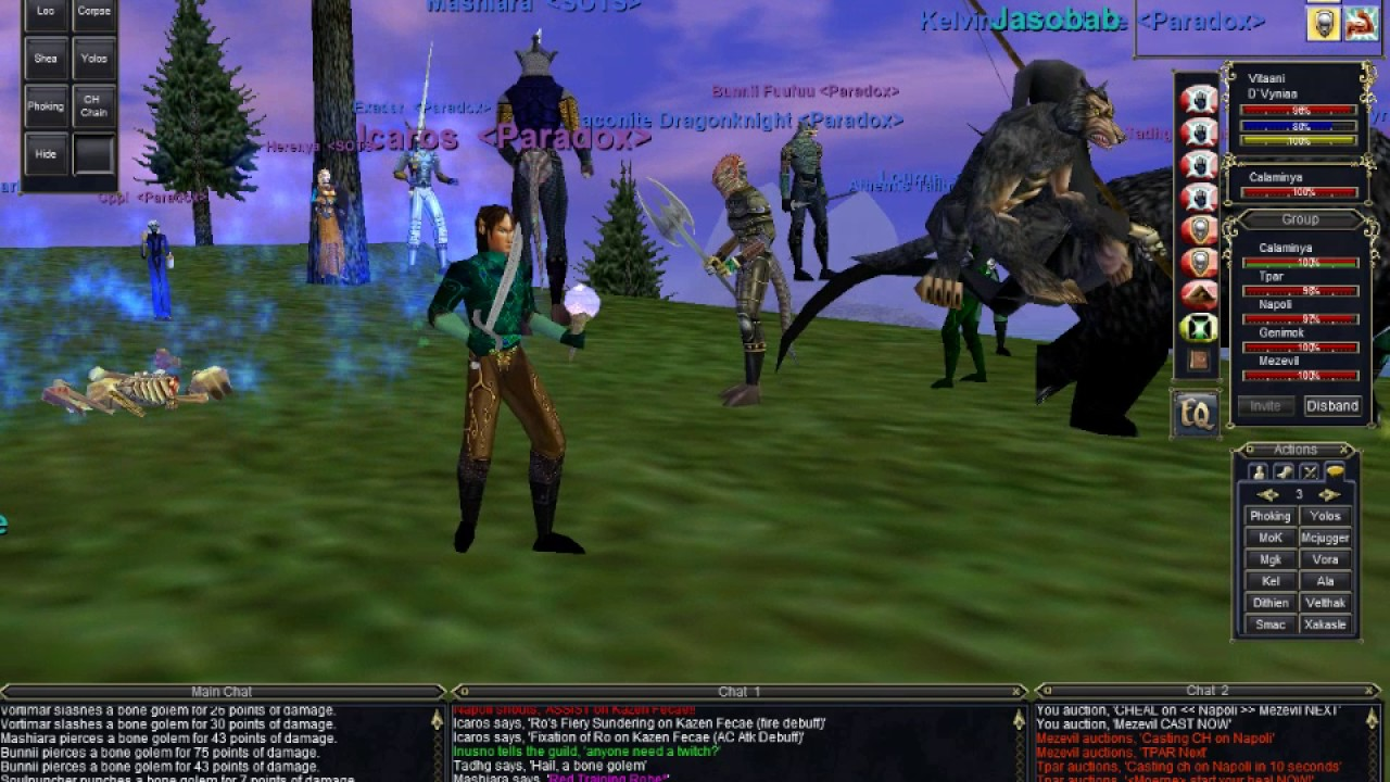 EverQuest (Project1999) -- Something for Necro Epic