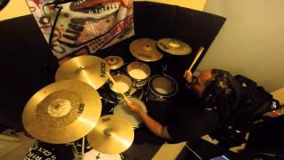 Download Chris Brown   Fine By Me | Marcus Thomas drum cover MP3 song and Music Video