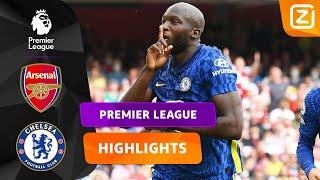 LUKAKU LAAT ZICH METEEN GELDEN! ⚽️🤩   Arsenal vs Chelsea   Premier League 2021/22