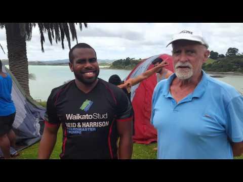 Ums coach interviews Fiji camp