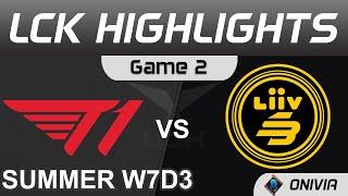T1 vs LSB Highlights Game 2 LCK Summer Season 2021 W7D3 T1 vs Liiv SANDBOX by Onivia
