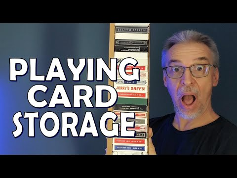 My Deck Collection How I Store My Cards Youtube
