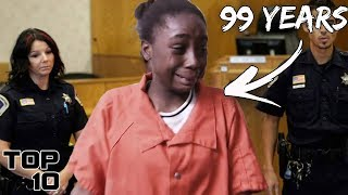 Top 10 Teenagers Freaking Out After A Life Sentence  Part 2