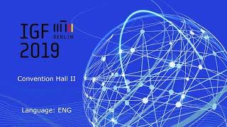IGF2019 - Day 3 - Convention Hall II English