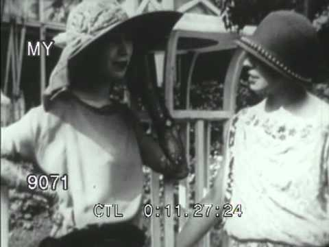 Stock Footage - 1910's Fashion