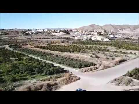 Aerial View Of Albox, Spain 2018