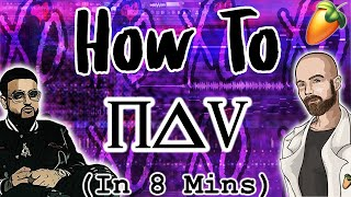 From Scratch: A Nav song in 8 minutes | FL Studio dark ambient trap Tutorial