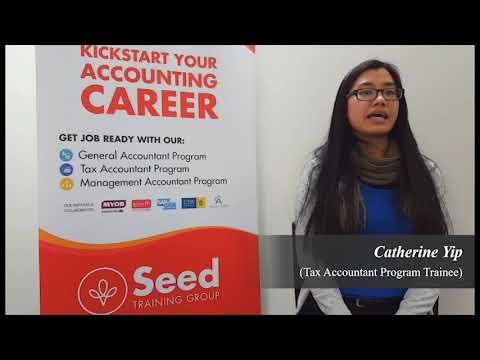 Seed Training Group offered me an Internship - Catherine Yip