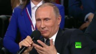 بوتين: دوائر أمريكية رسمية تقف وراء فضائح