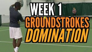 Transform your Tennis Game in 30 Days - Week 1: Groundstroke Domination