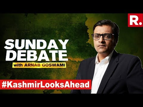 'Nehru To Blame For Kashmir Being Held Back'? | Exclusive Sunday Debate With Arnab Goswami