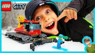 Lego City Snow Ski Groomer!