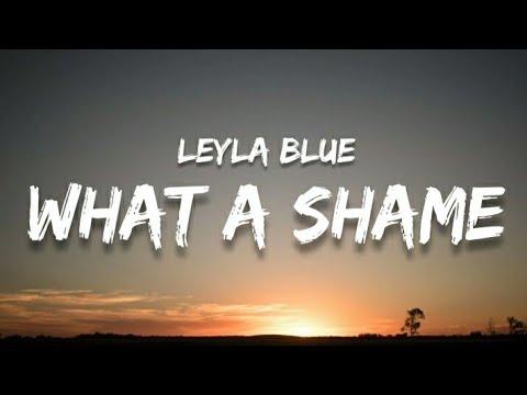 Leyla Blue -What a shame (lyrics)
