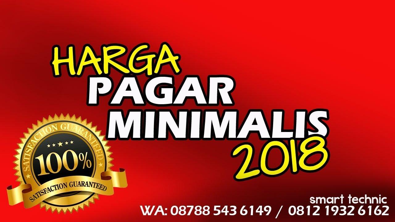 08170904777 HARGA PAGAR BESI RUMAH MINIMALIS 2018 Smart Technic