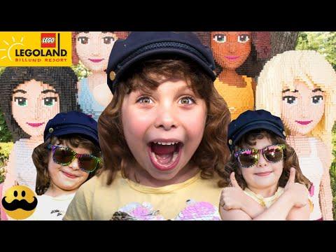 Melody besöker Legoland i Billund Danmark 2019 Del 1