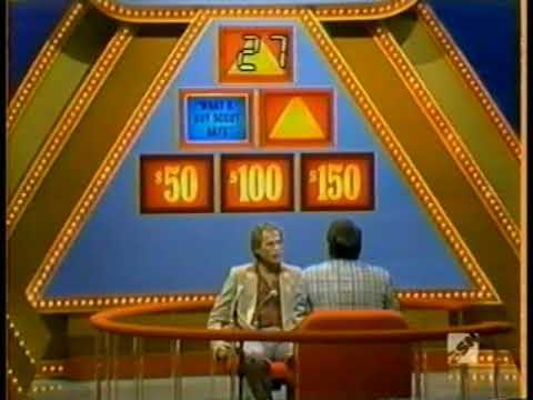 NEW $25,000 Pyramid bonus round  Earl Holliman 3