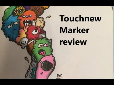 Touch new marker review: best comic alternative?