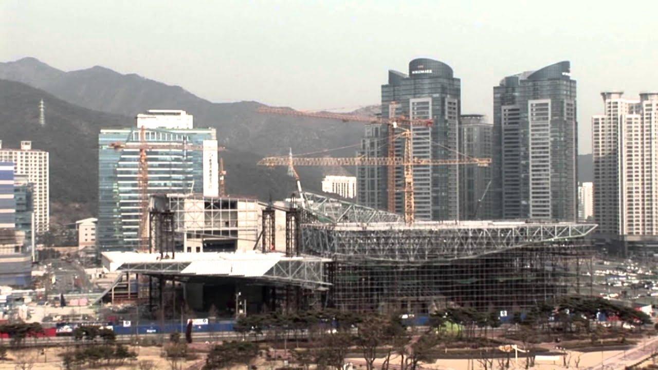 Cinema Center busan cinema center construction site mpg