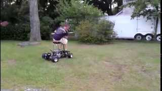 Drift/power Slide/dough Nut, Bar Stool Kart Part 1