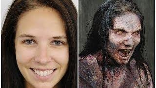 """Как делают зомби в сериале """"Ходячие мертвецы"""" Это интересно!"""