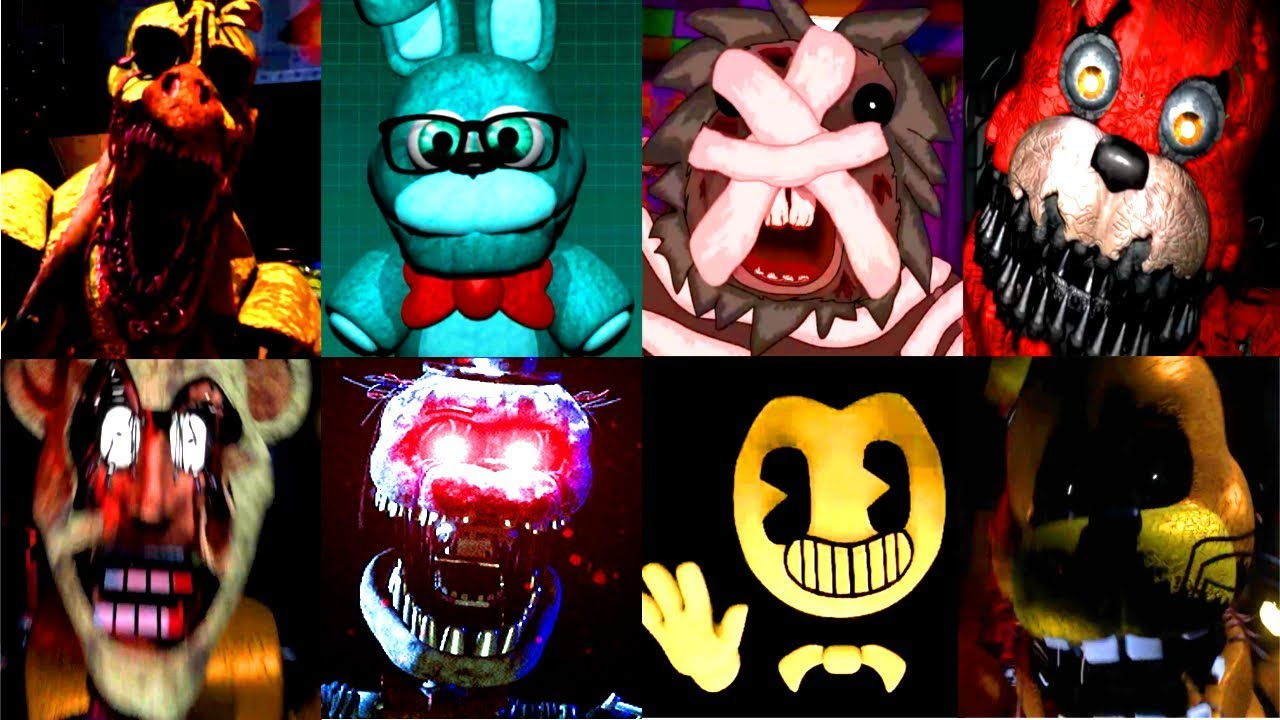 150 Jumpscares World Of Jumpscares 11 Fnaf Amp Fangame
