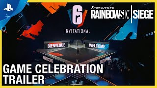 Rainbow Six Siege: Game Celebration Trailer - Six Invitational 2020 | PS4