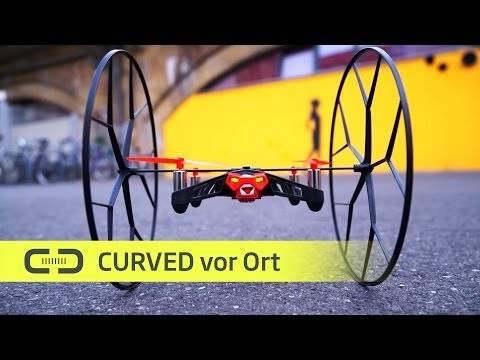 Hands-On Parrot Rolling Spider und Jumping Sumo