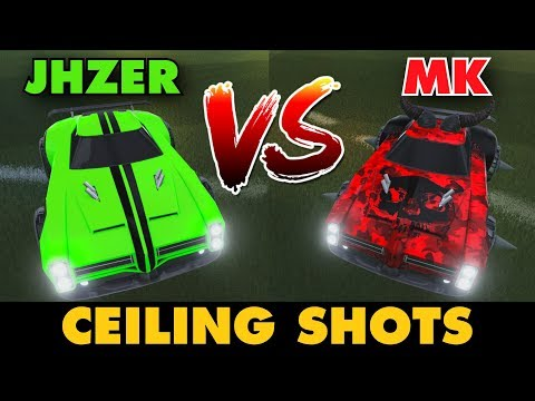 JHZER VS MK | Ceiling Shots (Rocket League 1v1)