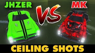 JHZER VS MK   Ceiling Shots (Rocket League 1v1)