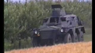 Alvis Saracen APC FV603 With Misfire