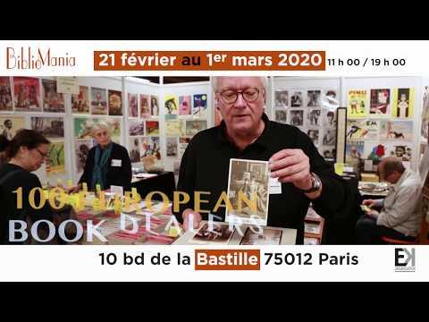 BiblioMania 2020, à la Bastille, du 21 février au 1er mars 2020