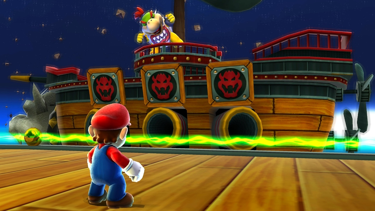 Super Mario Galaxy: Bowser Jr Boss Fight (4K 60fps)