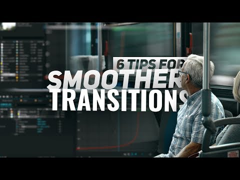 6 Tips for SMOOTHER TRANSITIONS - Adobe After Effects Tutorial thumbnail