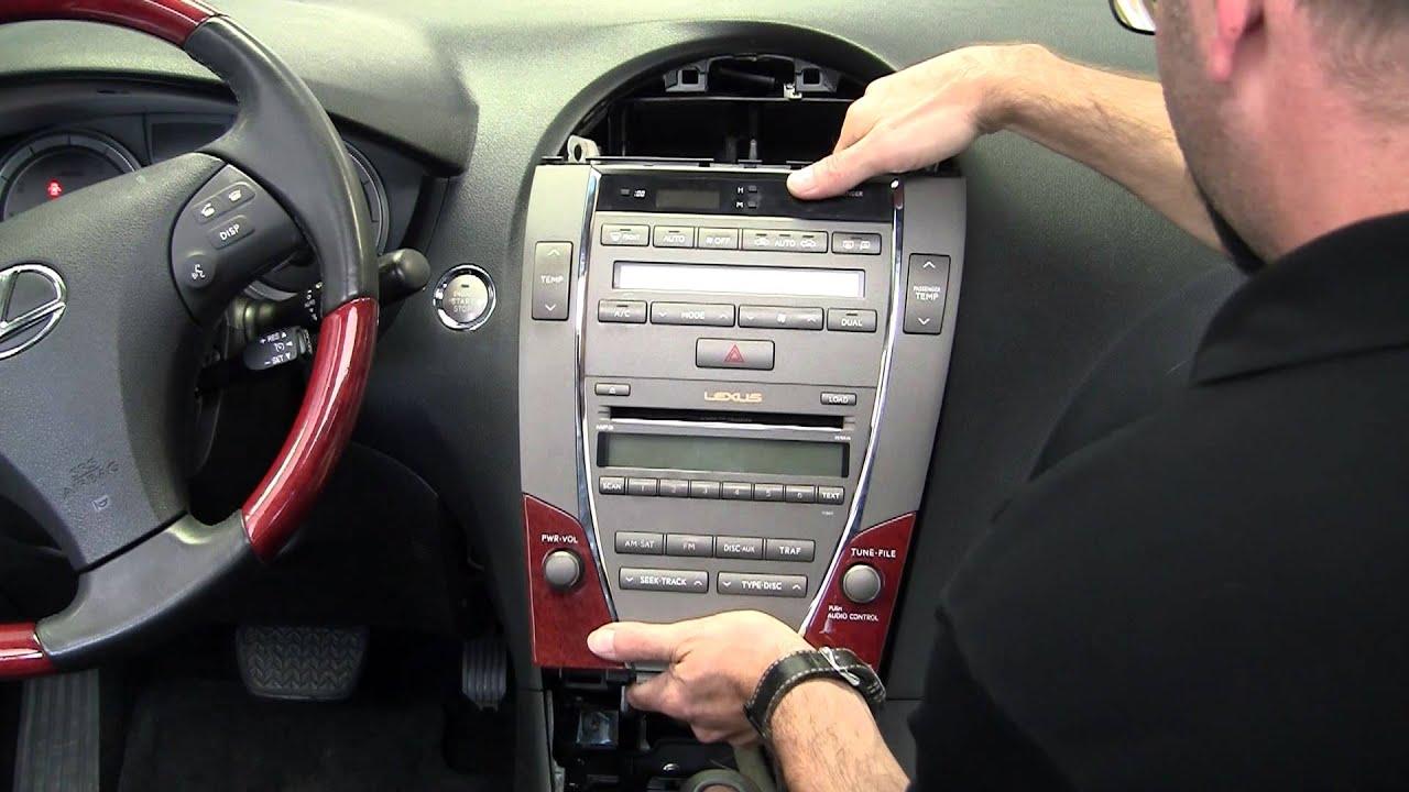 service manual  2002 lexus es dash removal  lexus gs Ford Ranger Stereo Wiring Diagram Ford Radio Wiring Schematic