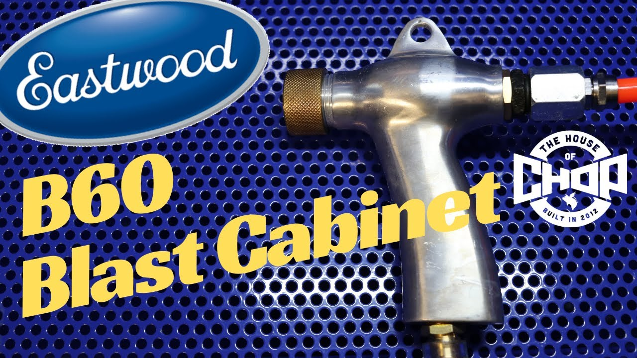 Blast Cabinet of the Future - NEW Eastwood B60  Unboxing and Assembly
