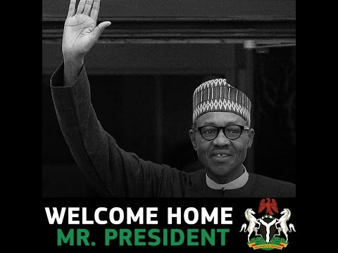 President Muhammadu Buhari returns