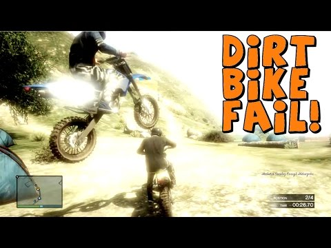 GTA 5 Multiplayer | With EK and Rampage | Dirt Bike Race ...