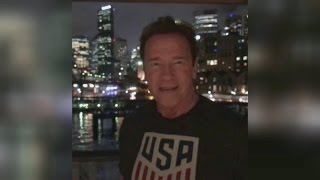 Arnold Schwarzenegger Criticizes President Trump Over Low Approval Ratings