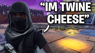 "Scammer says he's ""Twine Cheeks"" 😂 then this happened (Scammer Get Scammed) Fortnite Save The World"