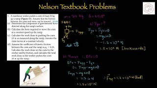 SPH4U/ Grade 12 Physics/ 4.1 Work Done by a Constant Force
