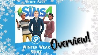 The Sims 4 Winter Wear Fan Made Stuff Pack Overview ❄⛄