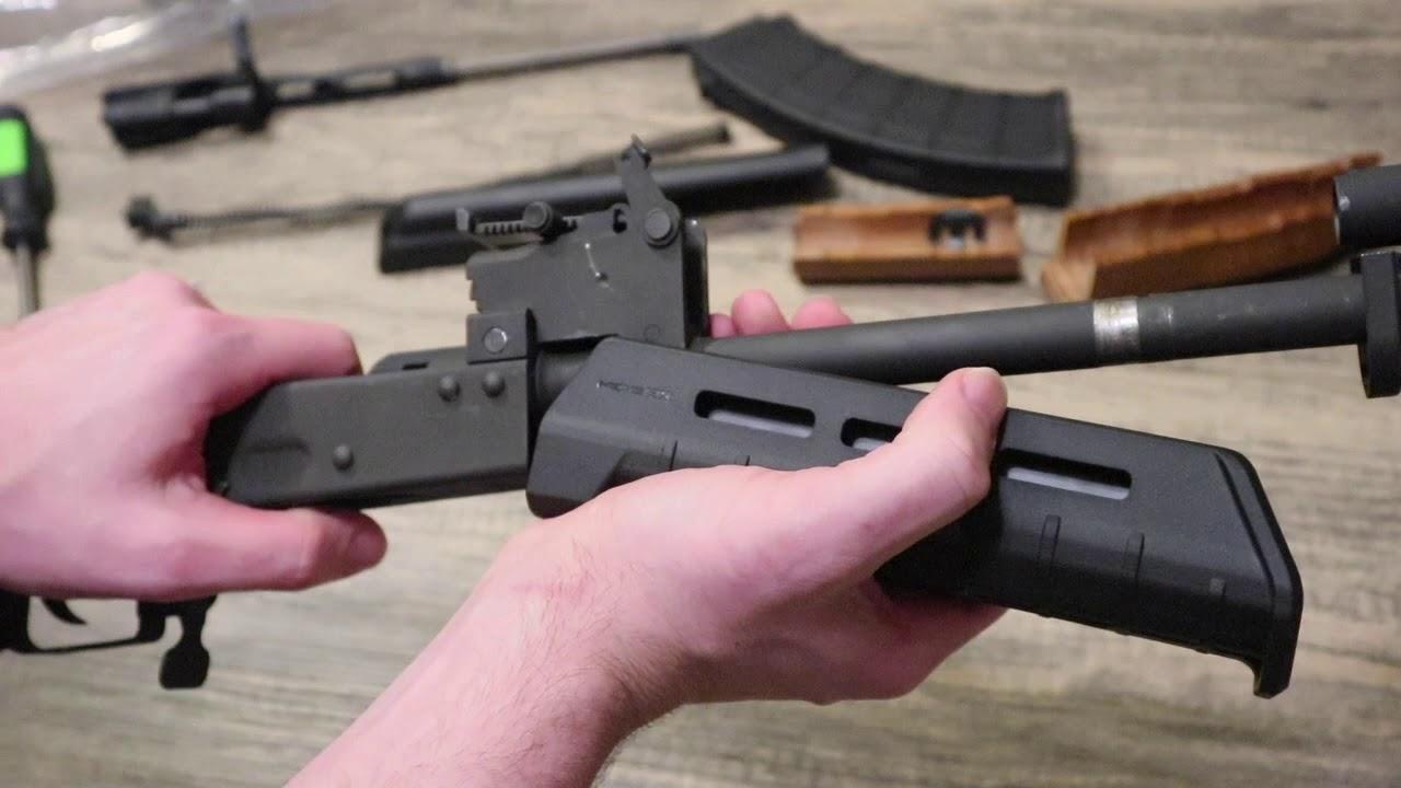 How to install a Magpul MOE AK Hand Guard on VSKA AK-47