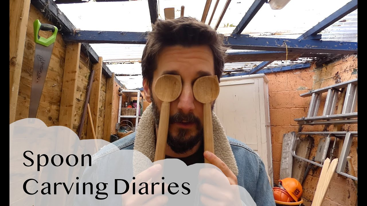 Spoon Carving Diaries - a Vlog