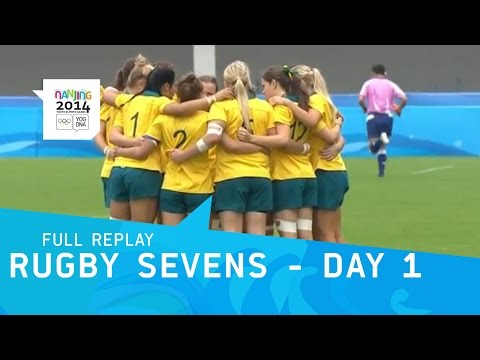 Rugby Sevens - Opening Day Action | Full Replay | Nanjing 2014 Youth Olympic Games